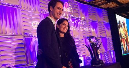 Joey Logano named 2018 Comcast Community Champion of the Year