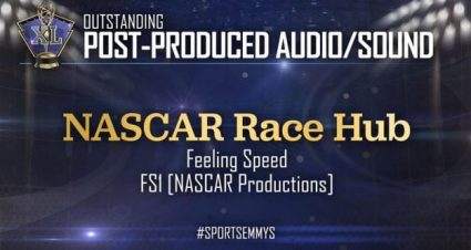 NASCAR Productions wins at 2019 Sports Emmy Awards