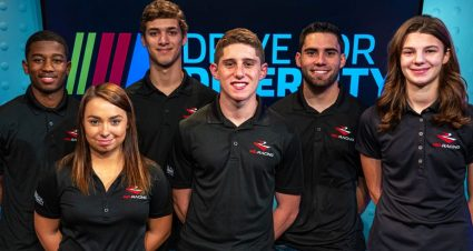 NASCAR and Rev Racing announce 2020 NASCAR Drive for Diversity Driver Development Team